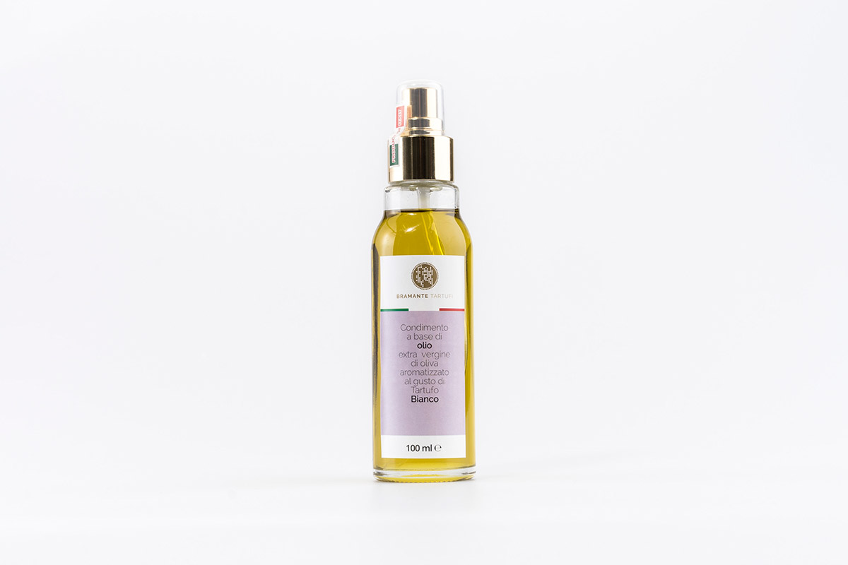Olio aromatizzato al tartufo bianco spray
