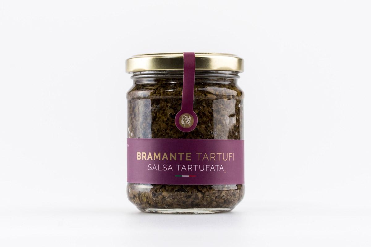 salsa tartufata (Funghi, olive e tartufo)